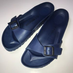 BIRKENSTOCKS WOMENS BLUE 41 SANDALS SHOES